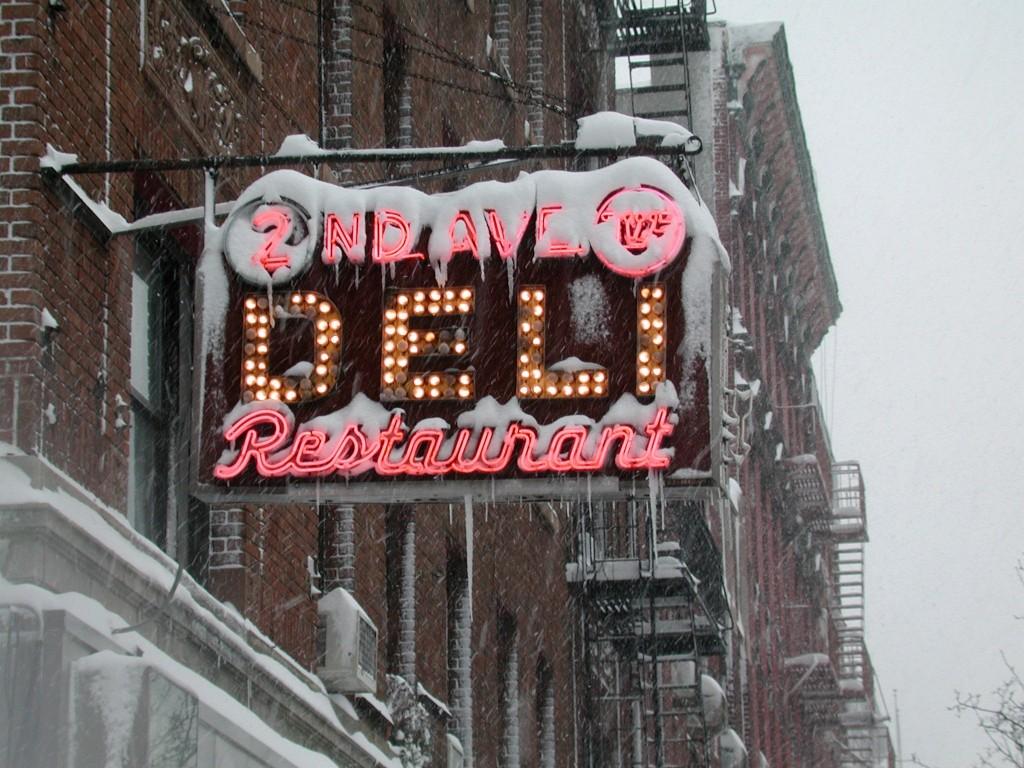 2nd Avenue Deli, NYC - 1998