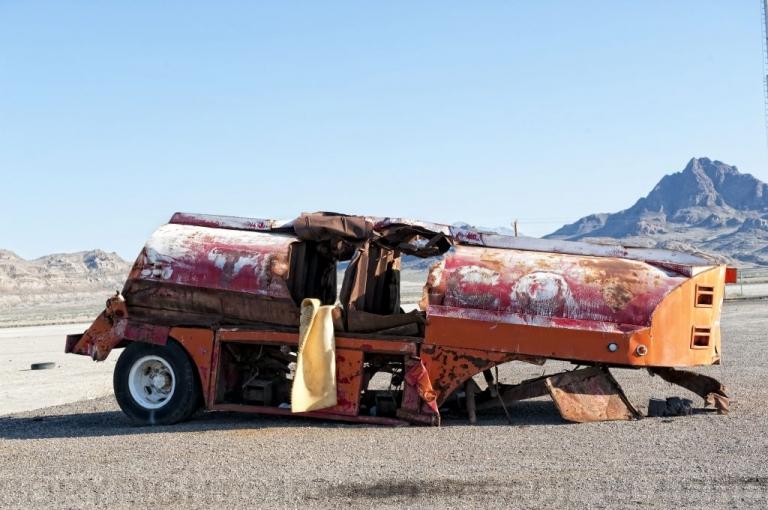 Bonneville Salt Flats, Utah - 2005